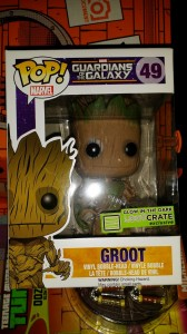Groot with Glow in the Dark Hand