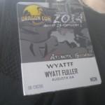 My Dragon Con badge