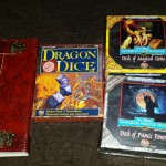A handmade book, and AD&D stuff