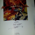 Larry Elmore signed my book!